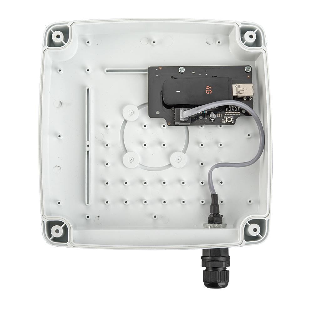 Уличный роутер Kroks Rt-Ubx sHw с USB модемом Huawei E3372, встроенный в антенну