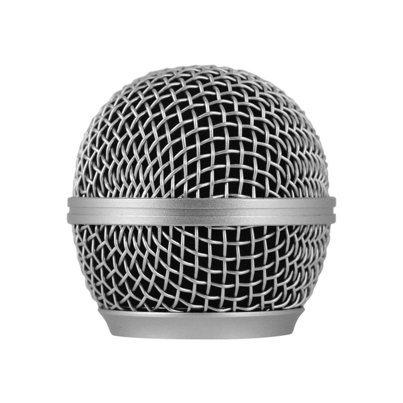 Microphone Grille Mic Replacement Ball Head Compatible with Shure SM58/SM58S/SM58LC/BETA58/BETA58A/SA-M30/SV100/UT2/PGX24/SLX4 Microphones