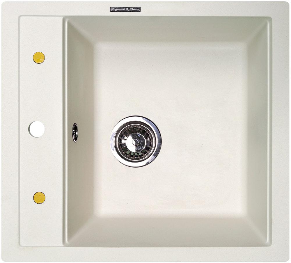 Кухонная мойка Zigmund & Shtain PLATZ 465 Индийская ваниль