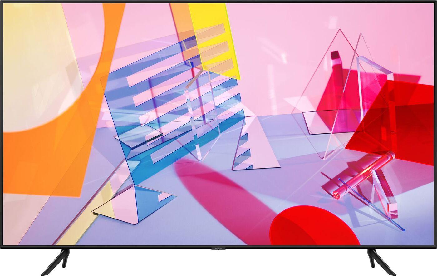 """4k uhd телевизор samsung qe65q60taux 65"""". уцененный товар"""