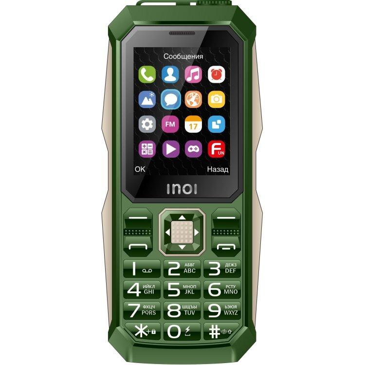 мобильный телефон inoi inoi246z, хаки