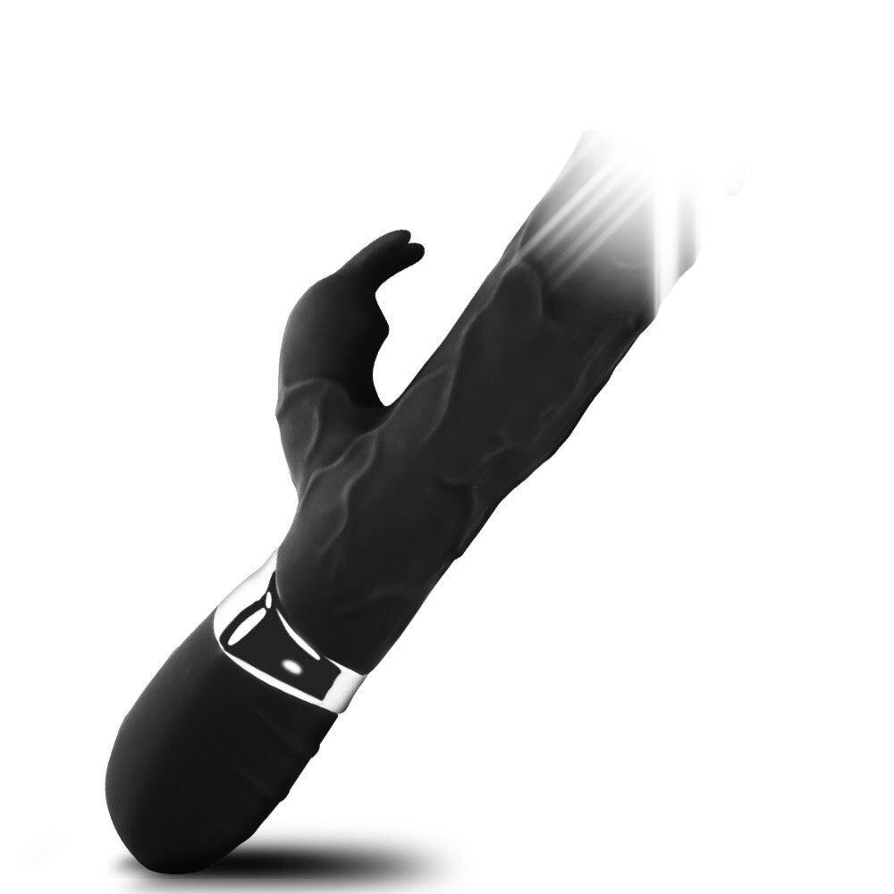 Вибратор G-Agent 700011, черный, 23 см