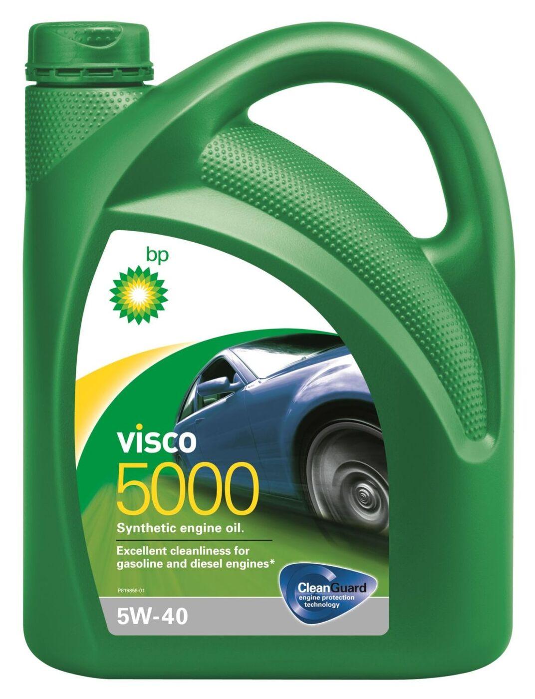 Моторное масло BP Visco 5000 5W-40 Синтетическое 4 л