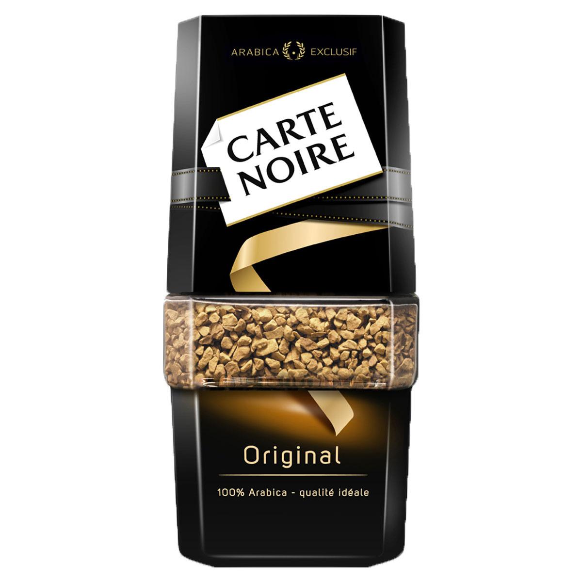 Carte Noire кофе натуральный растворимый сублимированный СБ 47,5г