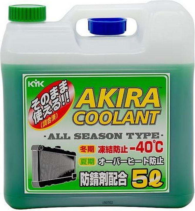 Антифриз Kyk Akira Coolant, до -40C, готовый раствор, зеленый, 5 л #1