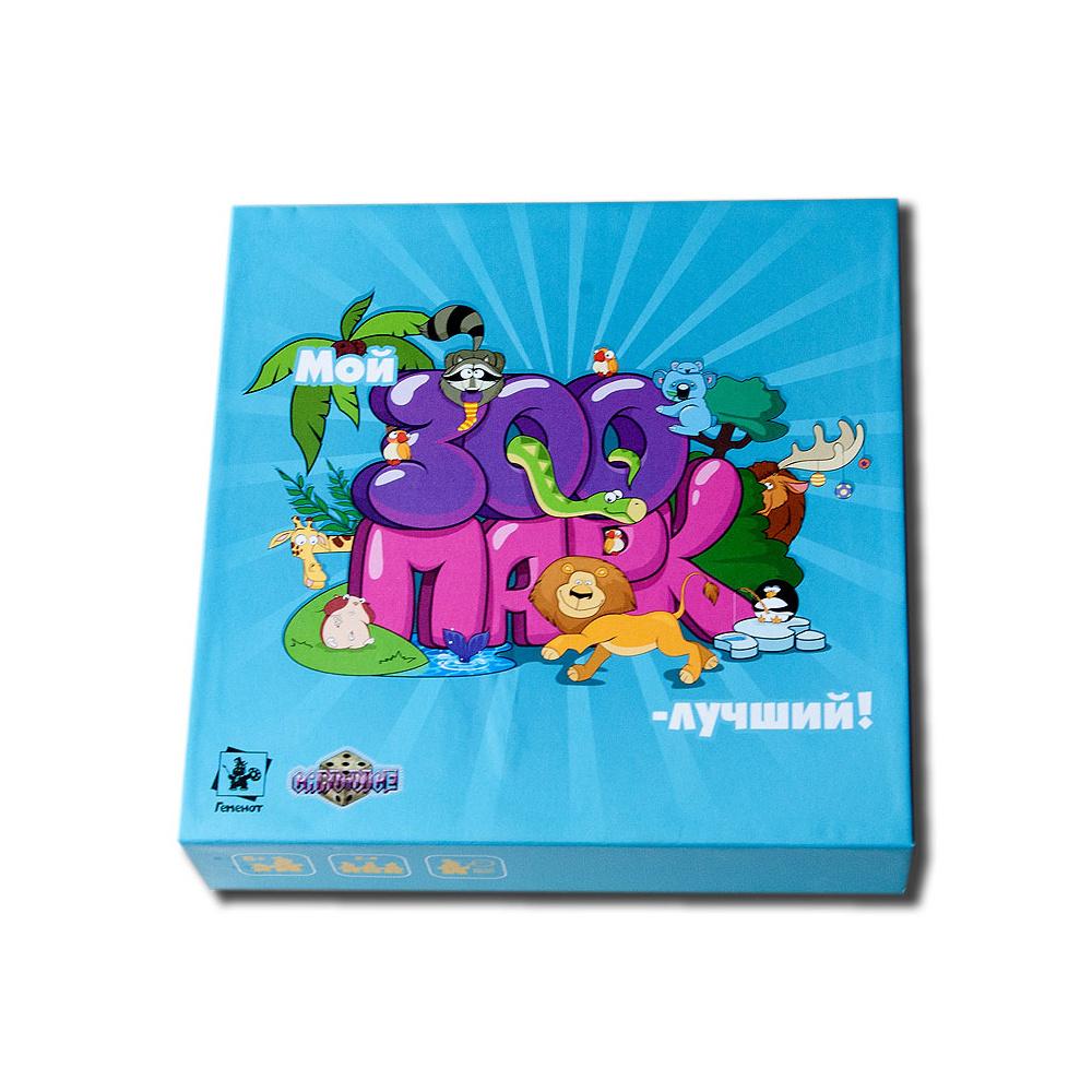 Настольная игра Геменот Мой зоопарк-лучший! Детская познавательная игра.  #1