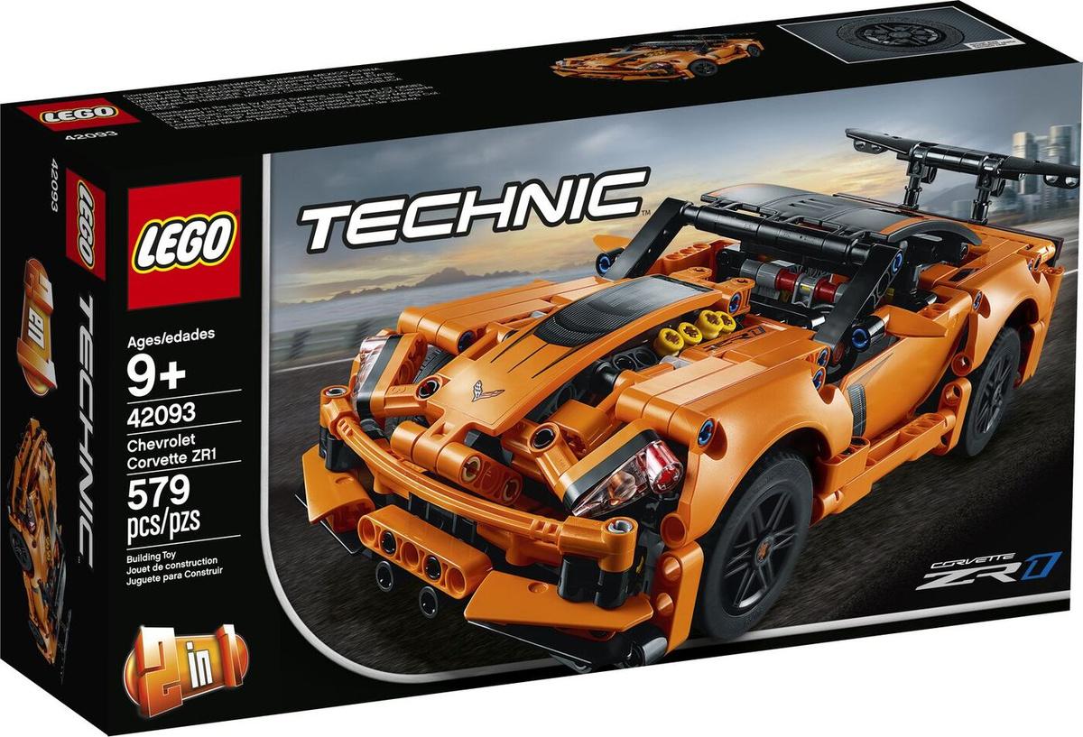 Конструктор LEGO Technic 42093 Chevrolet Corvette ZR1 #1