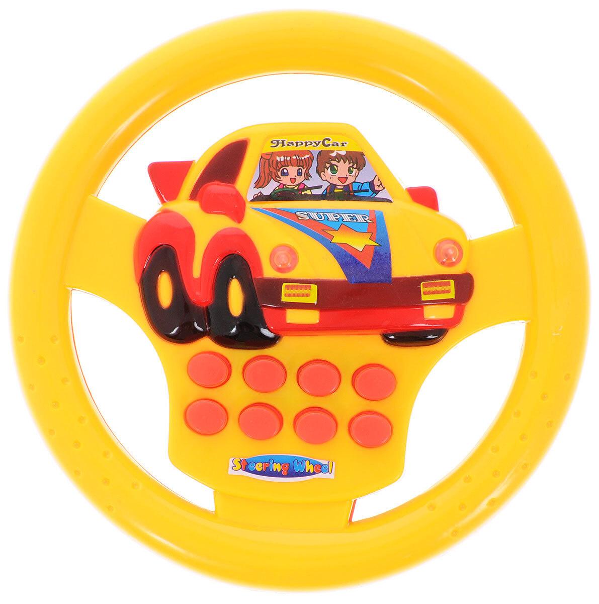 Junfa Toys Развивающая игрушка Руль цвет желтый красный #1