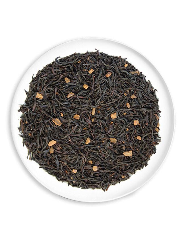 """Черный чай amoTEA """"Черный с корицей"""" 400гр. с добавками   #1"""