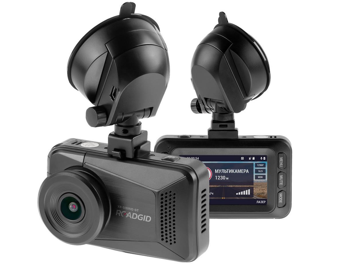 Видеорегистратор с радар-детектором Roadgid X8 Gibrid #1