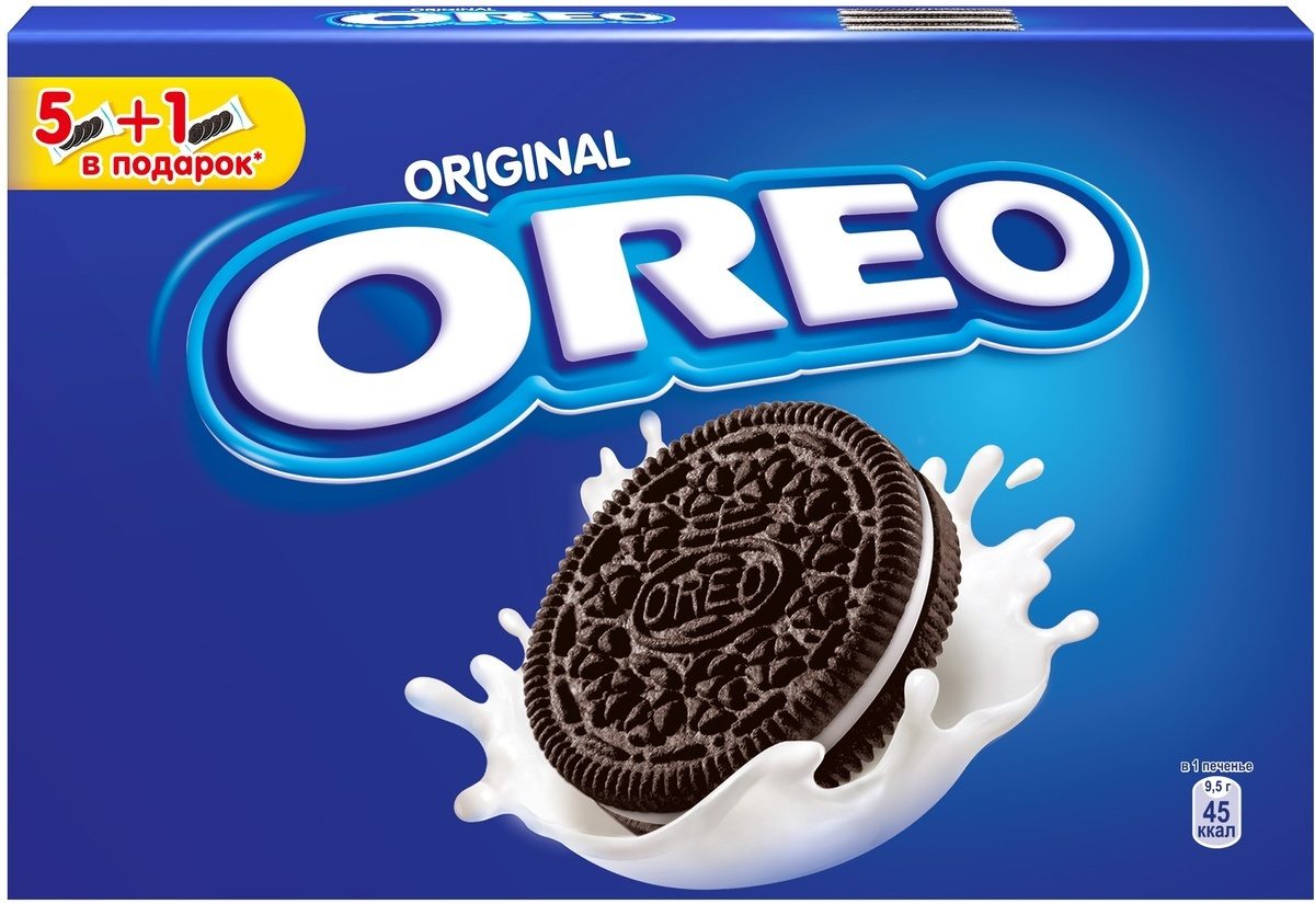 Oreo печенье, 228 г #1