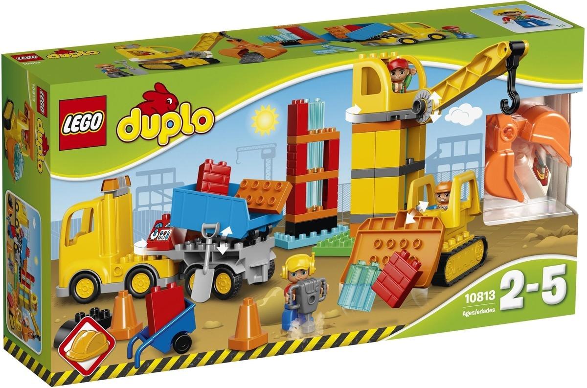 Конструктор LEGO DUPLO Town 10813 Большая стройплощадка #1