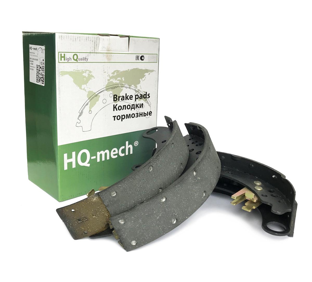 Тормозные колодки дисковые HQ-mech 2206-3502090 задние #1