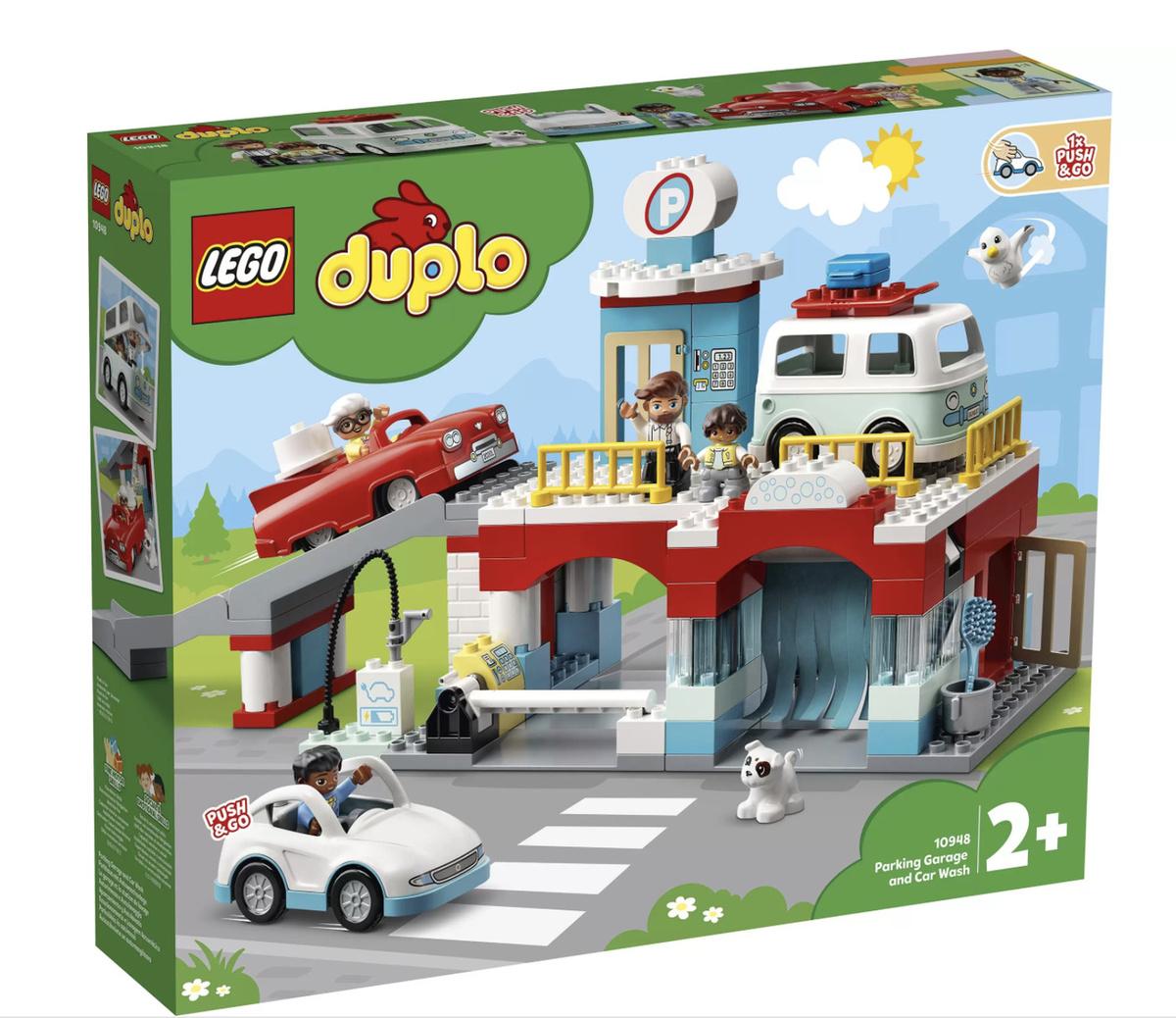 Конструктор LEGO DUPLO Town 10948 Гараж и автомойка #1