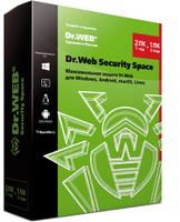 Антивирус Dr.Web Security Space, КЗ, на 12 мес.,1 лиц.. Dr. Web - лучшие предложения