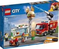 Конструктор LEGO City Fire 60214 Пожар в бургер-кафе. Наши лучшие предложения