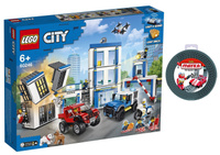 Конструктор Lego City Police 60246 Полицейский участок и гибкая лента-скотч для кубиков Lego 100/1.5 см.. Наши лучшие предложения