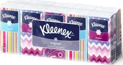 Платочки носовые Kleenex двухслойные белые Original, 10 х 10 шт