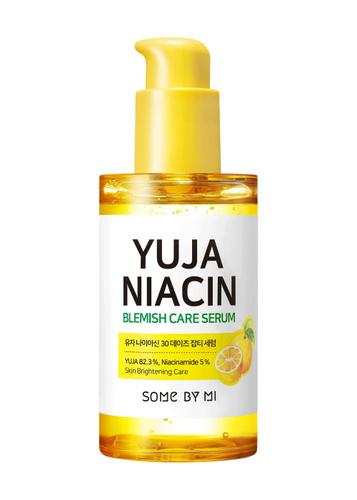 SOME BY MI Выравнивающая сыворотка с экстрактом юдзу, Yuja Niacin 30 Days Blemish Care Serum, 50 мл — купить в интернет-магазине OZON с быстрой доставкой