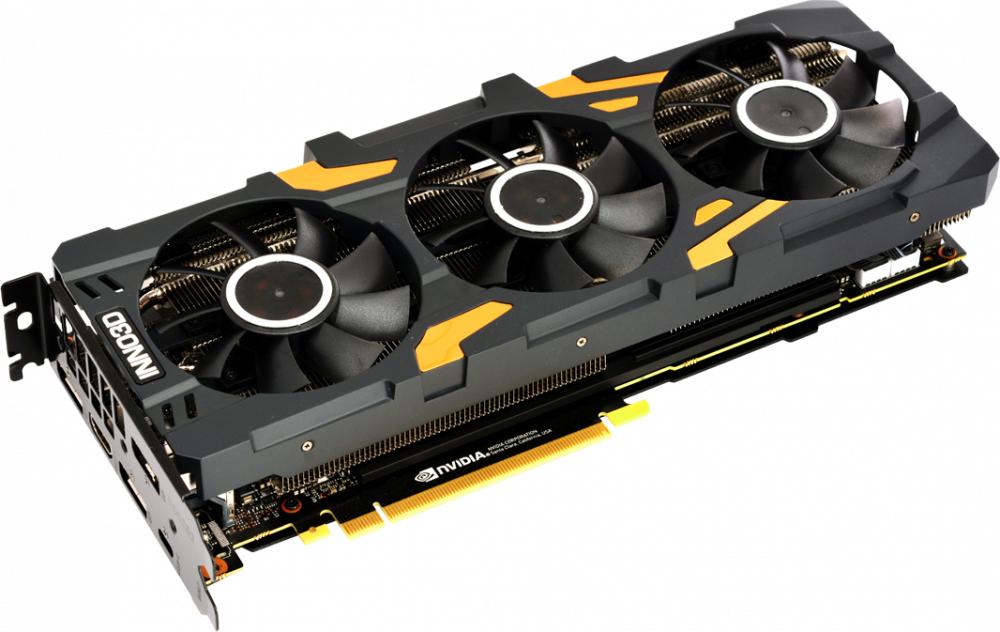 Видеокарта Inno3D GeForce RTX 2080 GAMING OC X3 8GB, N20803-08D6X-1180VA24 цена и фото