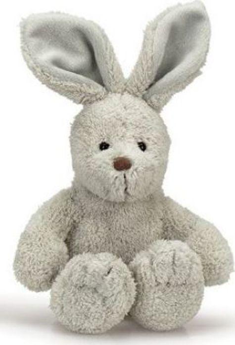 Мягкая игрушка Teddykompaniet Кролик Эбби, серый, 23 см