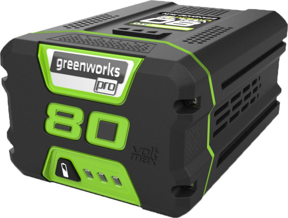 цена на Батарея аккумуляторная Greenworks G80B4 80V, 4 А.ч