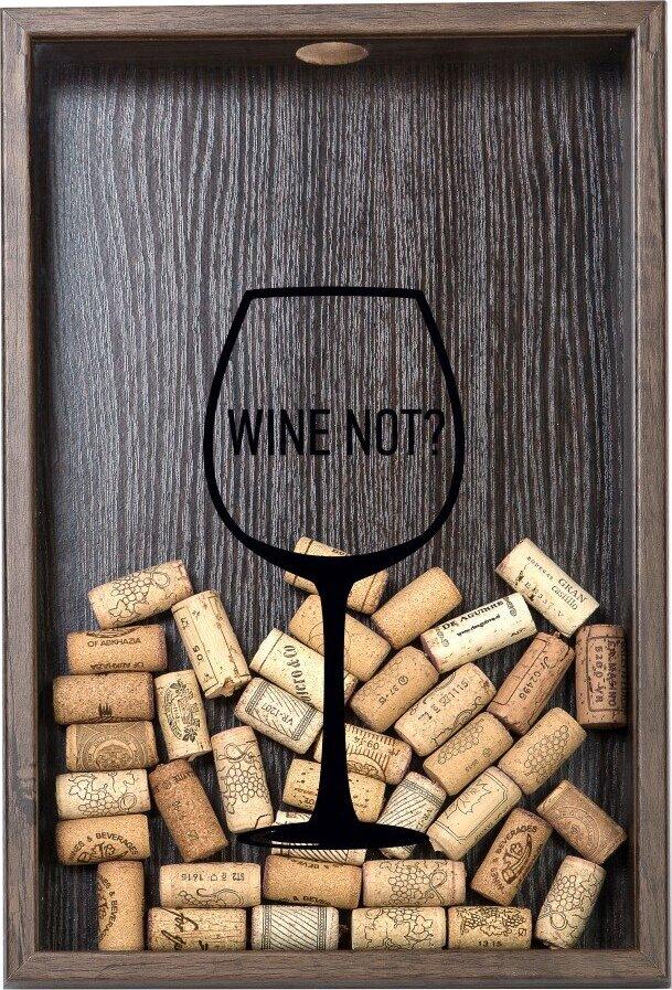 Копилка для винных пробок Wine not? на авто без пробок в москву