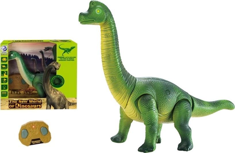 """HQ Радиоуправляемый динозавр """"Брахиозавр"""" цвет зеленый"""