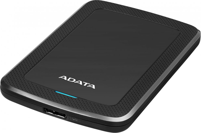 Внешний жесткий диск 2Tb ADATA HV300 Black, AHV300-2TU31-CBK жесткий диск a data usb 3 0 2tb ahv300 2tu31 cwh hv300 2 5 белый