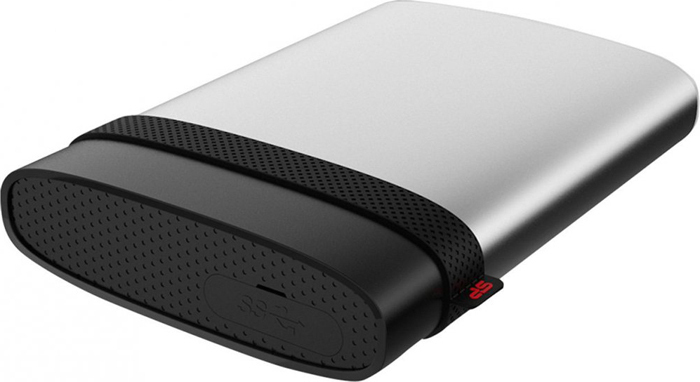 Портативный внешний жесткий диск Silicon Power Armor A85 2TB silver black, SP020TBPHDA85S3S