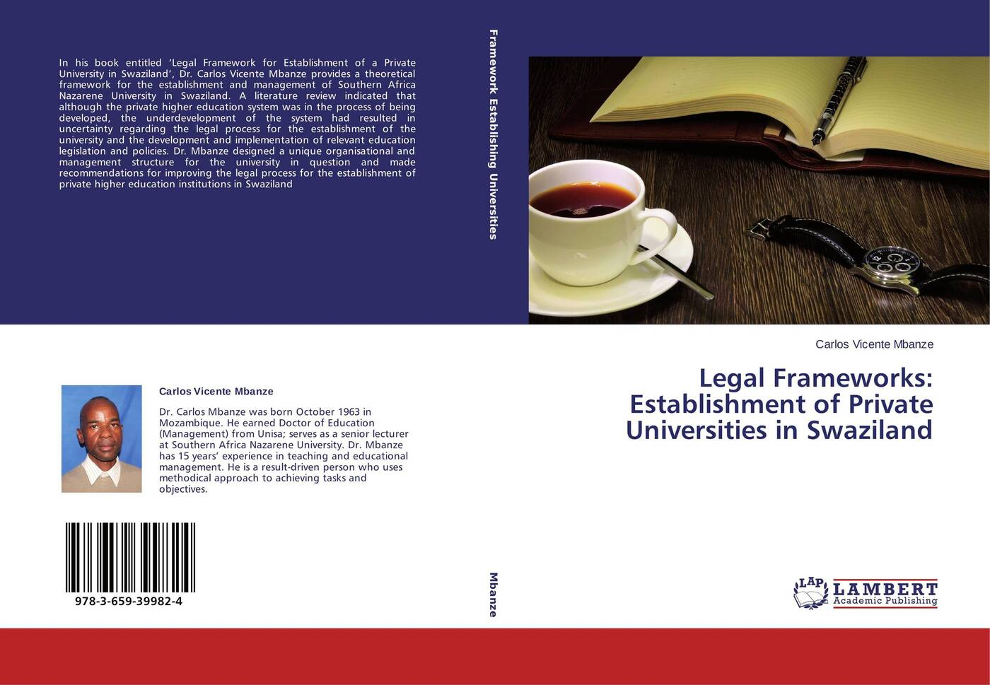 Carlos Vicente Mbanze Legal Frameworks: Establishment of Private Universities in Swaziland public administration and development improving accountability responsiveness and legal framework