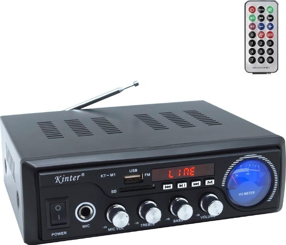 Kinter M1 Hi-Fi Стерео усилитель hy 502 hi fi цифровой автомобильный стерео усилитель мощности led звуковой режим аудио музыкальный плеер поддержка usb mp3 dvd sd fm