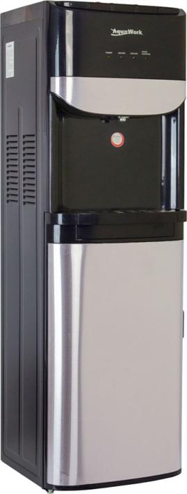 Кулер для воды Aqua Work AW TY-LWDR71Т, черный, серебристый