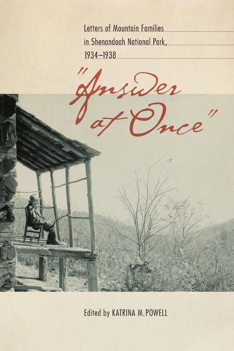 "Книга ""Answer at Once"". Letters of Mountain Families in Shenandoah National Park, 1934-1938"