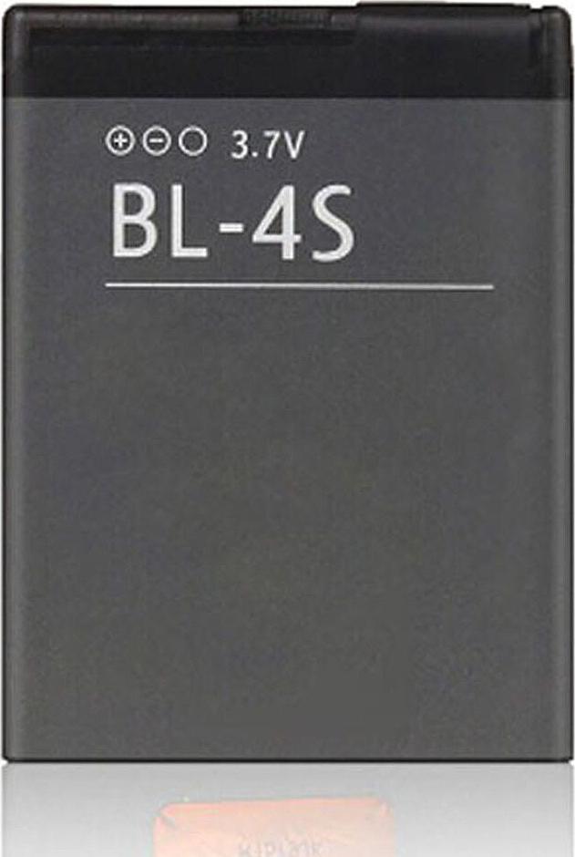 Аккумулятор BL-4S для Nokia 2680 slide, 3600 slide, 3710 fold, 3711, 6208, 7020, 7100 Supernova, 7610 Supernova, X3-02