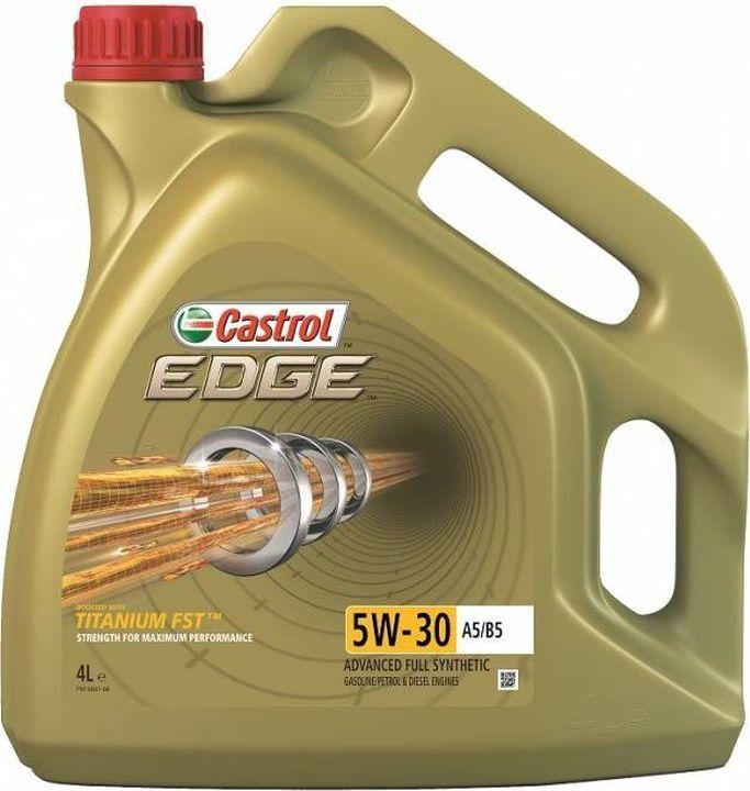 Моторное масло Castrol EDGE, синтетическое, 5w30 A5/B5, 4 л