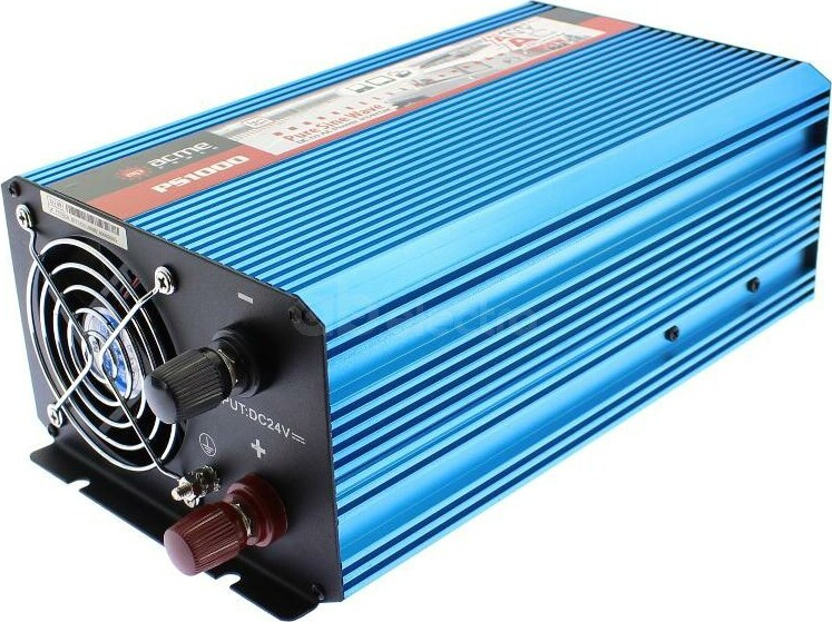 Преобразователь напряжения AcmePower AP-PS1000/24 (реальный синус, 1000 Вт)