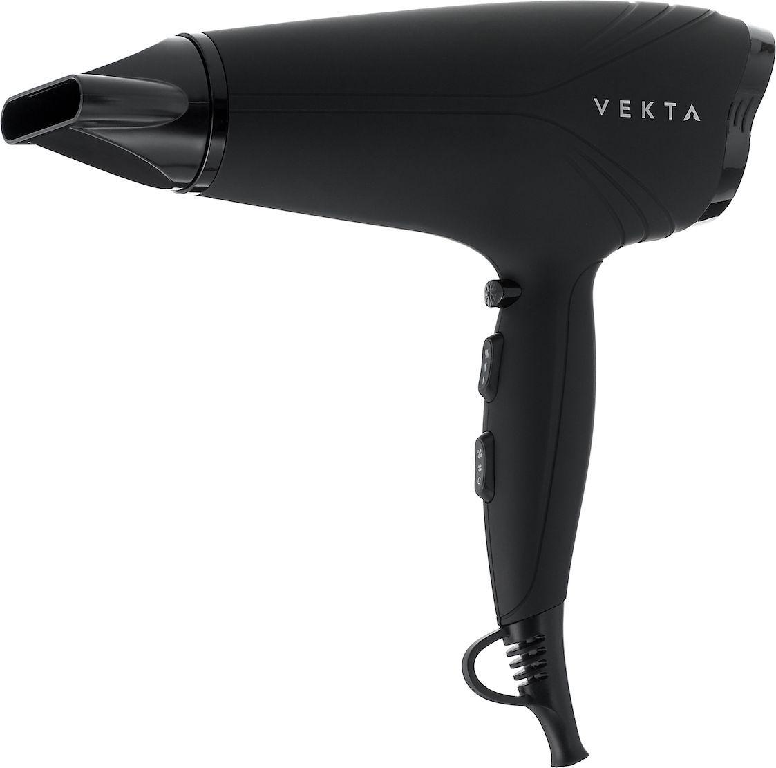 Фен Vekta HDM-2201H, черный