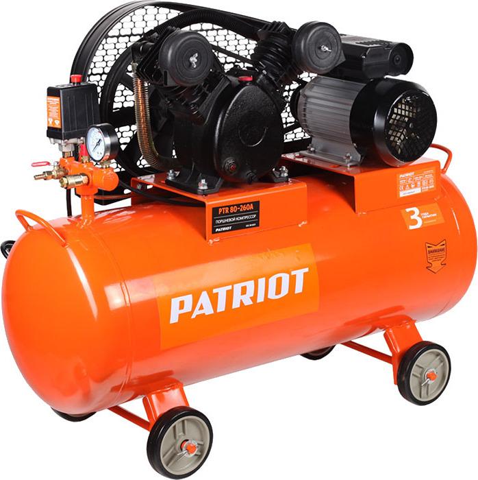 Компрессор PATRIOT PTR 80-260А