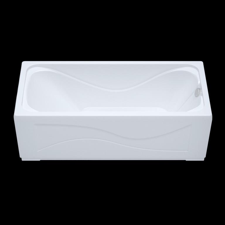 Акриловая ванна Triton Стандарт 140x70 прямоугольная