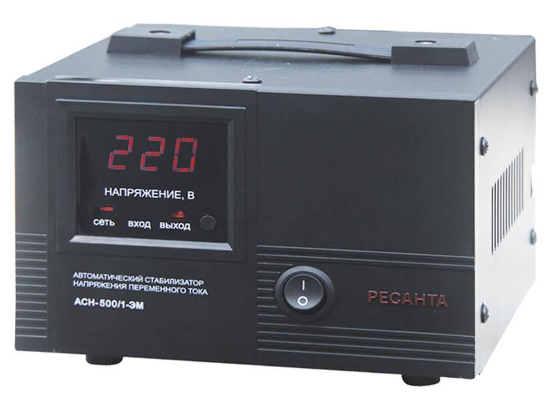 Стабилизатор ACH-500/1-ЭМ Ресанта