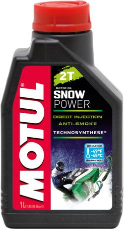 Масло моторное Motul Snowpower 2T 1л (105887)