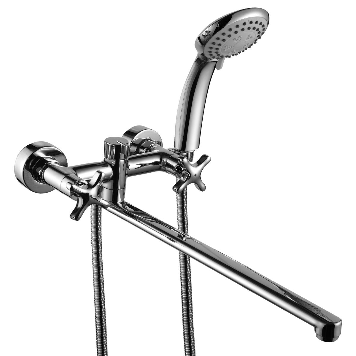 Смеситель для ванны универсальный Rossinka RS39-84