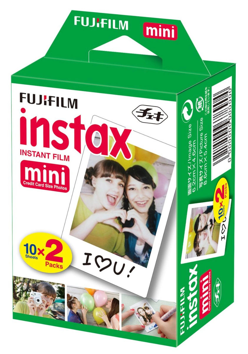 fujifilmcolorfilminstax mini (10/2pk) картридж уцененный товар (№12)