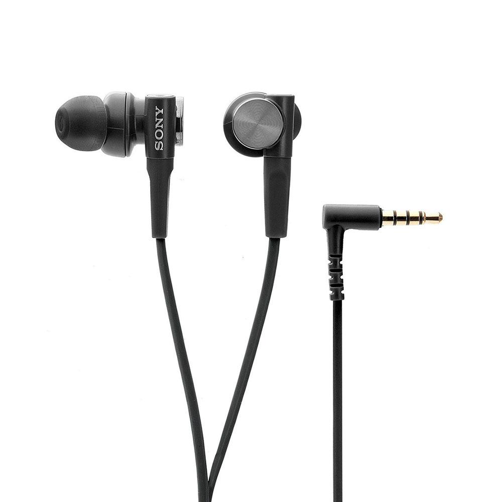 Наушники-вкладыши Sony MDR-XB50AP black