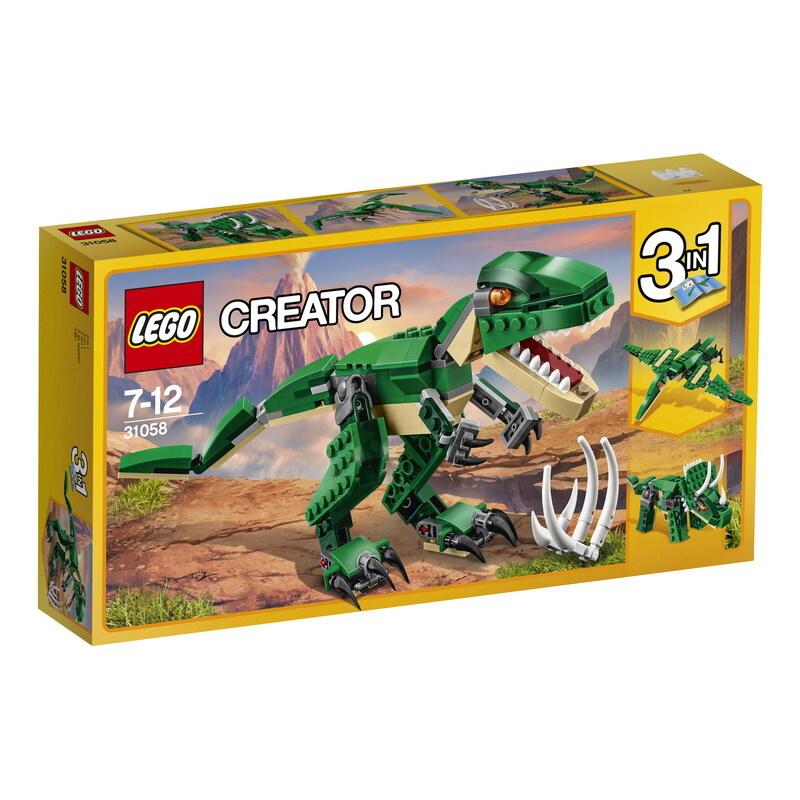 Конструктор LEGO CREATOR Грозный динозавр