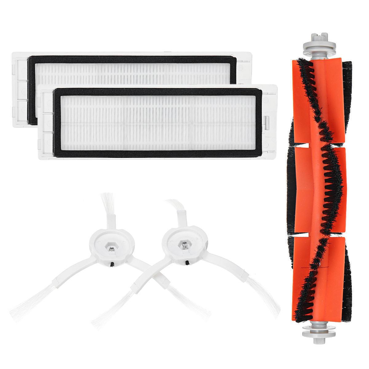Набор сменных щеток и фильтров для робота-пылесоса Xiaomi Mi Robot Vacuum и Roborock Sweep One 5 шт