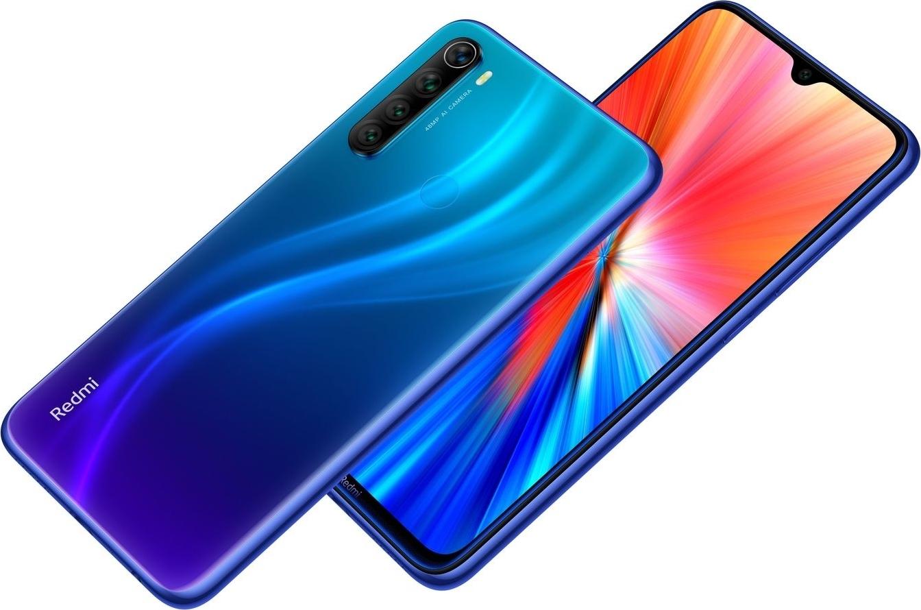 смартфон xiaomi redmi note 8  6/64gb, синий