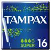Тампоны с аппликатором TAMPAX  Super, 16 шт. - изображение