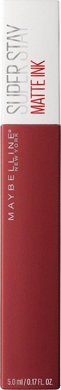 """Maybelline New York Суперстойкая жидкая матовая помада для губ """"Super Stay Matte Ink"""", оттенок 50, Путешественник #1"""